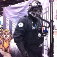 A TIE FIghter Pilot at the inaugural Fan Expo Vancouver in 2012
