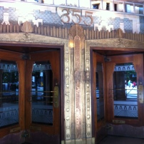 Vancouver's Marine Building that was used as The Daily Planet in Smallville.