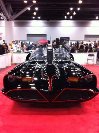 The original Batmobile that recently sold at auction