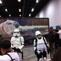 Stormtroopers from Star Wars