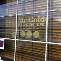 Mr. Gold's Pawn shop in Once Upon a Time