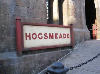 The Hogsmeade sign
