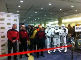 Star Trek meets Star Wars