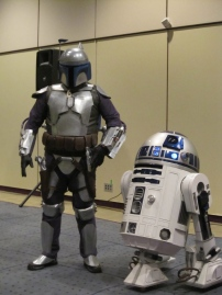 Jango Fett and R2D2