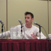 Daniel Logan during his Q&A panel at Comic Con Toronto 2013