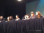 Continuum Cast during their Fan Expo Vancouver Panel