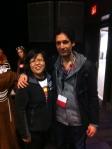 Me posing with Continuum's Stephen Lobo