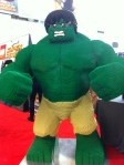 The Hulk in Lego Form