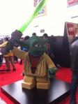 Yoda in Lego form