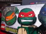 Michaelangelo and Raphael in Lego Form