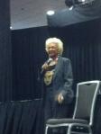 Nichelle Nichols during her panel