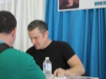 James Marsters Meeting a fan at his table