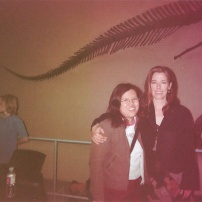 Mag Ruffman and I. Mag played Aunt Olivia in Road to Avonlea.