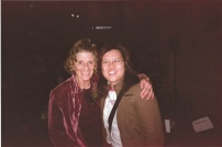 Me and the late Jackie Burroughs back in 2006 during the Road to Avonlea reunion at the ROM. She was Cassandra Carver in Smallville Season 1's Hourglass