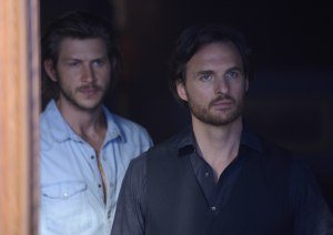 Greyston Holt as Clay Danvers and Greg Bryk as Jeremy Danvers
