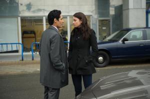 Stephen Lobo as Kellogg and Rachel Nichols as Kiera Cameron