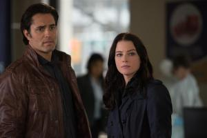 Victor Webster as Carlos Fonnegra and Rachel Nichols as Kiera Cameron