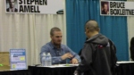 A blurry Stephen Amell