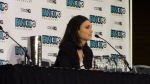 Morena Baccarin during her Fan Expo Vancouver 2014 Panel