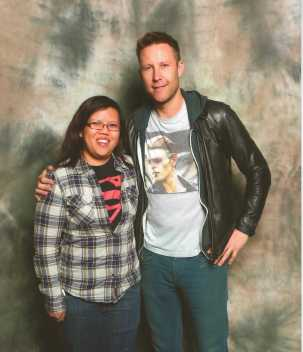 Me and Michael Rosenbaum