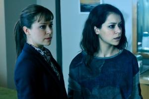 Tatiana Maslany as Alison Hendrix and Sarah Manning