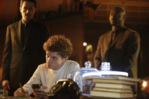 Zak Santiago as Agent Miller, Erik Knudsen as Sadler and Adrian Holmes as Agent Warren