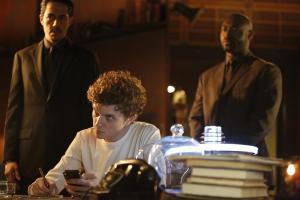 Zak Santiago as Agent Miller, Erik Knudsen as Sadler and Adrian Holmes as Agent Warren