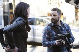 Rachel Nichols as Kiera Cameron and Ryan Robbins as Brad/John Doe