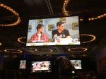 The Under the Dome Panel: Colin Ford and Eddie Cahill