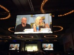 The Under the Dome Panel: Dean Norris and Rachelle Lefevre