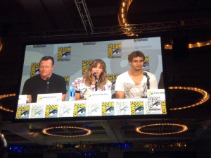 The Scorpion Panel: Robert Patrick, Katherine McPhee, Elyes Gabel