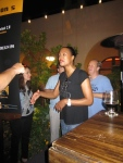 Aisha Tyler serving up beer at Hop-Con 2.0