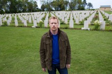 JM-at-Beny-sur-Mer-Canadian-War-Cemetary