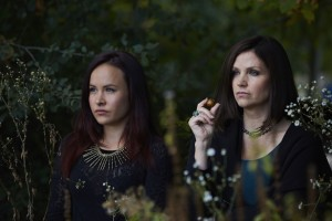 Tommie-Amber Pirie as Paige Winterbourne and Tammy Isbell as Ruth Winterbourne