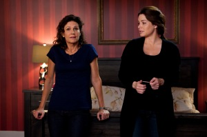 Wendy Crewson and Dana Kinney and Erica Durance as Alex Reid