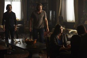 Greg Bryk as Jeremy Danvers, Greyston Holt as Clay Danvers, Tammy Isbell as Ruth Winterbourne  and Tommie-Amber Pirie as Paige Winterbourne