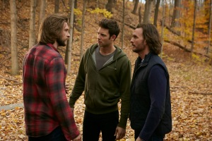 "Greyston Holt as Aleister/""Clay Danvers"", Steve Lund as Nick Sorrentino and Greg Bryk as Jeremy Danvers"