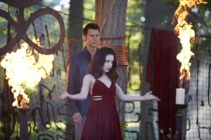 Sean Rogerson as Aleister and Kiara Glasco as Savannah