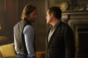 Greg Bryk as Jeremy Danvers and Daniel Kash as Roman Navikev
