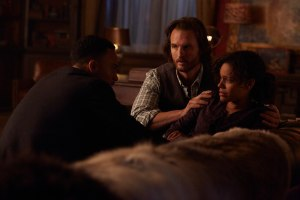 Michael Xavier as Logan Jonsen, Greg Bryk as Jeremy Danvers and Genelle Williams as Rachel