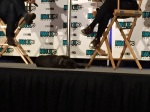 Carrie Fisher's dog at her panel