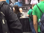 Scott Wilson at his table