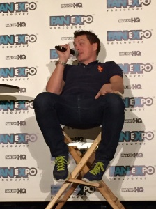 John Barrowman at his panel