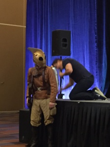 John Barrowman and the Rocketeer