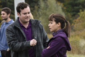 Kristian Bruun as Donnie and Tatiana Maslany as Alison