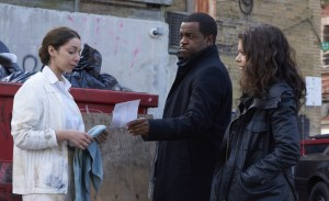 Kevin Hanchard as Art and Tatiana Maslany as Sarah Manning
