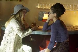 Ksenia Solo as Shay and Tatiana Maslany as Cosima