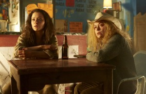 Tatiana Maslany as Sarah Manning and Tatiana Maslany as Helena
