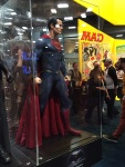 Superman's costume in Batman versus Superman