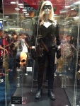 Black Canary costume with Deathstroke mask